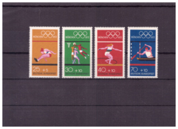 Allemagne De L'Ouest 1972 - MNH ** - Jeux Olympiques - Michel Nr. 734-737 (OLI524) - Olympic Games