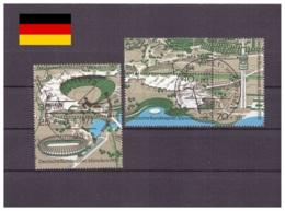 Allemagne De L'Ouest 1972 - Oblitéré - Jeux Olympiques - Nr. Michel 723-726 Série Complète (ger1306) - [7] Federal Republic