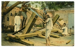 INDIA : TIMBER SAWING - India