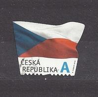 Czech Republic 2015 Gest ⊙ Mi 865 The Flag Of The Czech Republic. Die Flagge Der Tschechische C28 - Tchéquie