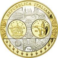 Italie, Médaille, L'Europe, L'Italie, FDC, Argent - Italie