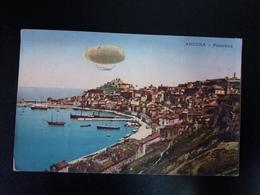 Ancona - Panorama - Dirigibile / Zeppelin - Ancona