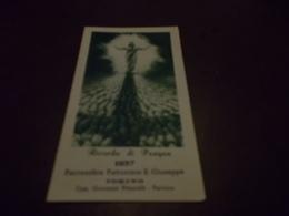 B703  Santino Pasqua 1957 - Images Religieuses