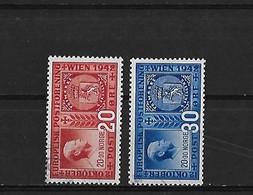 Norvege Yv. 244 Et 245 O. - Norvège