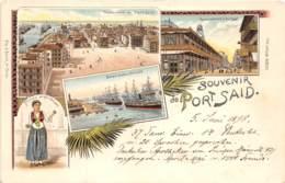 Egypte / Topo - 57 - Beau Cliché Précurseur - Litho 1898 - Egypte