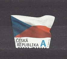 Czech Republic 2015 Gest ⊙ Mi 865 The Flag Of The Czech Republic. Die Flagge Der Tschechische C29 - Tchéquie