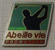 ABEILLE VIE PROMOTION    GOLF  GOLFEUR  BANQUE ASSURANCE  MUTUELLE - Golf
