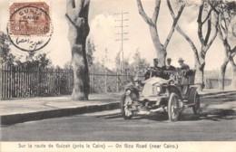 Egypte / Topo - Belle Oblitération - 63 - Sur La Route De Guizek - - Egypte