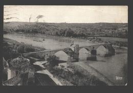 Avignon - Pont St-Bénézet Et Le Rhône - 1951 - Vernie - Avignon (Palais & Pont)