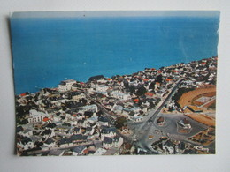 Coutainville. Vue Aerienne. CIM E 50003 996.2892 Postmarked 1977 - France