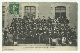 Musique De L'ecole D'artillerie 9è Corps Chef Mr MARIN- Militaire Régiment - Sonstige
