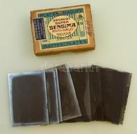 Cca 1935 Mozgásművészeti, Mozdulatművészeti Kompozíciók, 13 Db Vintage üveglemez Negatív, Kerny István (1879-1963) Budap - Autres Collections