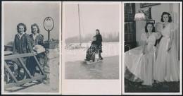 Cca 1941-1943 Ikreket ábrázoló Fotók, 5 Db, 14×9 Cm - Other Collections