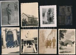 Cca 1930 Vegyes Városképes Fotól 6x9 Cm 15 Db - Autres Collections