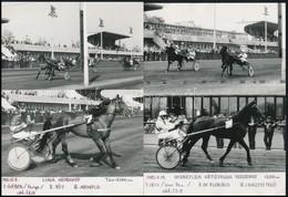 1981-1982 Ügetői életképek, 2 Db Fotó, Feliratozva, 18×13 Cm - Other Collections