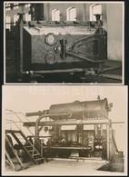 Cca 1940 4 Db Rökk Gyárról Készült  Fotó 16x12 Cm-ig - Autres Collections