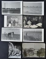 Vegyes Fotó Tétel, 8 Db, Közte Egy Sérülttel, 8x13 Cm és 10x16 Cm Közötti Méretben - Other Collections