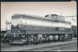Cca 1961-1963 NOHAB SJ T43 Sorozatú Mozdony, Retusált Sajtófotó, 11,5×17,5 Cm / SJ Class T43 Swedish Diesel-electric Loc - Other Collections