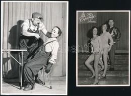 Cirkusz Varieté, 24 Db Különböző Sajtófotó, 12,5×8 és 26×20 Cm Közötti Méretekben - Autres Collections