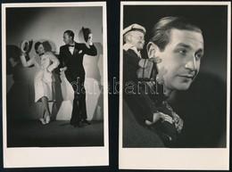 Cca 1942 Magyar Előadóművészek Turnéja Argentínában, 5 Db Pecséttel Jelzett, Vintage Fotó + 4 Db Dokumentum A Turnéval K - Other Collections