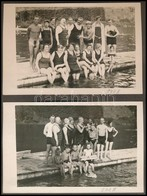 1919 és 1938 Között Készült, Privát Felvételeket Tartalmazó Fotóalbum, Benne 171 Db Vintage Fénykép, 4x6 Cm és 9x14 Cm K - Autres Collections