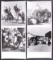 Cca 1930-1940 Nigéria, Sajtófotók Egy Muszlim ünnepről, Hátoldalán Feliratozva, 6 Db 19x19 Cm-es Fénykép. - Autres Collections