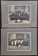 Cca 1900-1910 Bécsi Kapucinus Szerzeteseket ábrázoló Fotók, 2 Db, Fotó Kartonon, Wien, Paul De Frenes, 16x20 Cm és 16x21 - Autres Collections
