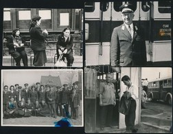Cca 1960-1980 BKV és HÉV 13 Db Klf Méretű Fotó - Other Collections