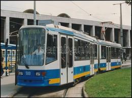 Cca 1990 Debrecen 1-es Villamos 24x16 Cm - Other Collections