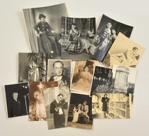 Cca 1940-70 14 Db Filmfotó 24x16 Cm - Other Collections