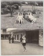 Cca 1960 30 Db Vegyes Fotó Tétel, Közte Német, Cseh Városképek, 11x17 és 23x17 Cm Közti Méretben - Autres Collections