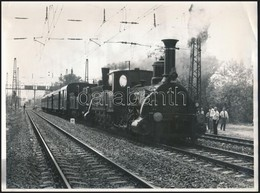 1985 MÁV 335-ös és 341-es Mozdonyok Vontatják A Vác-Veresegyház Vonal Megnyitásának Centenáriumára Indított Különvonat,  - Autres Collections