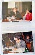 Cca 1990 Egy Magyar Diplomata Fotó Naplója. Kb 120 Db Fénykép Hivatalos Programokról, Tárgyalásokról Igényes Berakóban.  - Other Collections