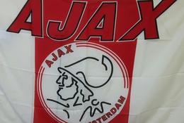 Fan Flag FC Ajax Amsterdam Holland Nederlands Football Club 130x90cm - Apparel, Souvenirs & Other