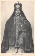 Ethiopie / Royauté - 04 - L' Impératrice - Ethiopie
