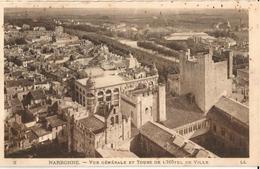 11 - NARBONNE - VUE GÉNÉRALE ET TOURS DE L'HÔTEL DE VILLE - Narbonne