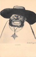 Ethiopie / Royauté - 07 - Caricature De Ménélik - Ethiopie