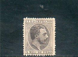 CUBA 1888 * - Cuba (1874-1898)