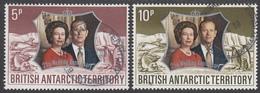 BRITISH ANTARCTIC TERRITORY  Michel  43/44 Very Fine Used - Territoire Antarctique Britannique  (BAT)