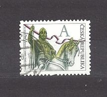 Czech Republic 2012 ⊙ Mi 723 Sc 3536 St. Vaclav. St. Wenceslas. The Stamp Portrays J.V. Myslbek C13 - Tchéquie