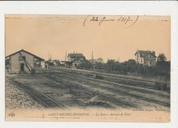 BELLOY SAINT MICHEL BOUGIVAL ARRIVEE DE PARIS CPA BON ETAT - Gares - Sans Trains
