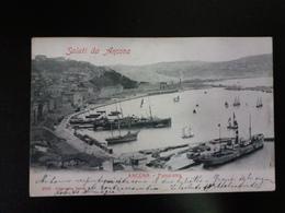 Saluti Da Ancona - Viaggiata Il 13.4.1903 - Ancona