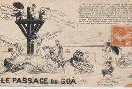 C P A - LE PASSAGE DU GOA - ILLUSTRATEUR - J. NOZAIS - - Ile De Noirmoutier