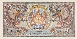 Bhutan 2 Ngultrum, P-13 (1986) - UNC - Bhoutan
