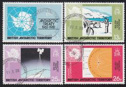 BRITISH ANTARCTIC TERRITORY  Michel  84/87 Very Fine Used - Territoire Antarctique Britannique  (BAT)