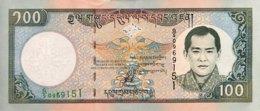 Bhutan 100 Ngultrum, P-25 (2000) - UNC - Bhutan