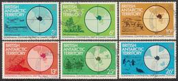 BRITISH ANTARCTIC TERRITORY  Michel  88/93 Very Fine Used - Territoire Antarctique Britannique  (BAT)