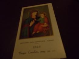 B703  Santino Santuario Consolata 1969 - Images Religieuses
