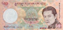 Bhutan 50 Ngultrum, P-31a (2008) - UNC - Bhutan