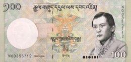 Bhutan 100 Ngultrum, P-32a (2006) - UNC - Bhutan